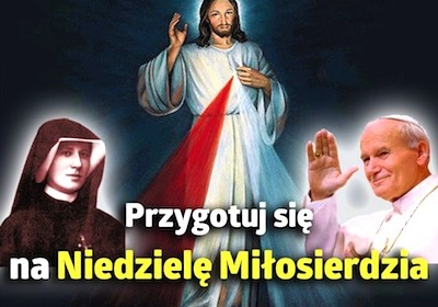 Zapraszamy na nowennę przed uroczystością Niedzieli Miłosierdzia