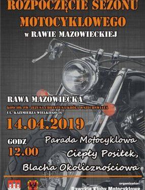 Rawscy motocykliści rozpoczną sezon w naszej parafii (14.04 o godz. 12)