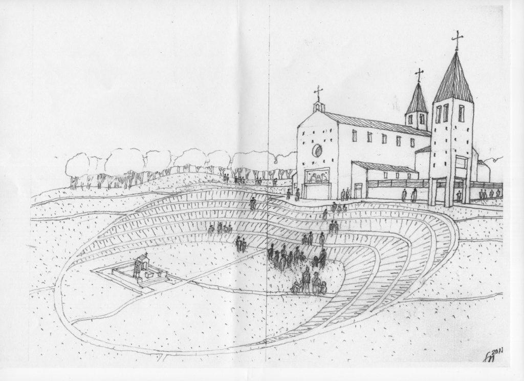 Projekt naszego kościoła autorstwa śp. Stanisława Niemczyka