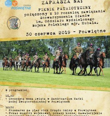 Piknik Patriotyczny w gminie Poświętne