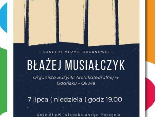 Koncert muzyki organowej w wykonaniu organisty z Bazyliki w Oliwie