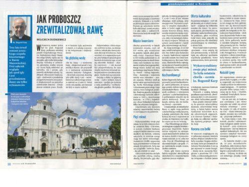 Zwiedzanie z przewodnikiem muzeum i krypt oraz wieży widokowej w Dużym Kościele w Rawie Mazowieckiej
