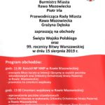 Obchody Święta Wojska Polskiego oraz 99. rocznicy Bitwy Warszawskiej