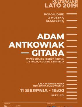 Koncert Adama Antkowiaka w MDK