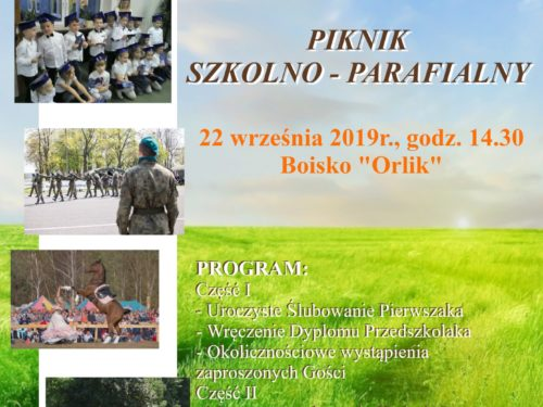 Piknik szkolno-parafialny