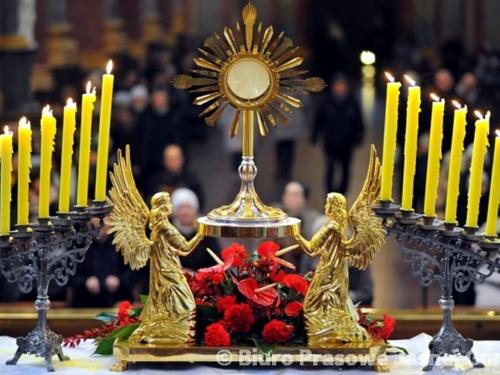 Czterdziestogodzinne nabożeństwo. Rekolekcje parafialne