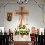 Msze Święte odbywają się wg. porządku niedzielnego