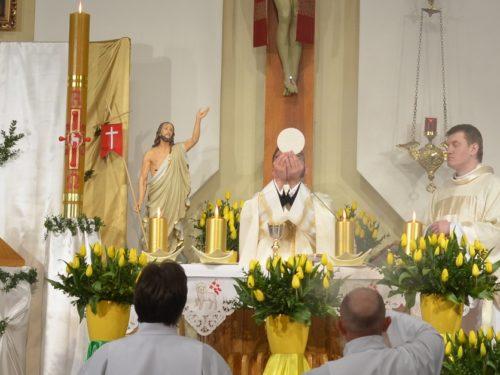 Liturgia Wigilii Paschalnej w naszej kaplicy [zdjęcia]