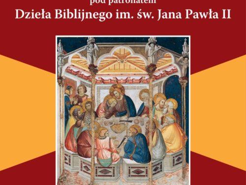 Rozpoczynamy Ogólnopolski Tydzień Biblijny