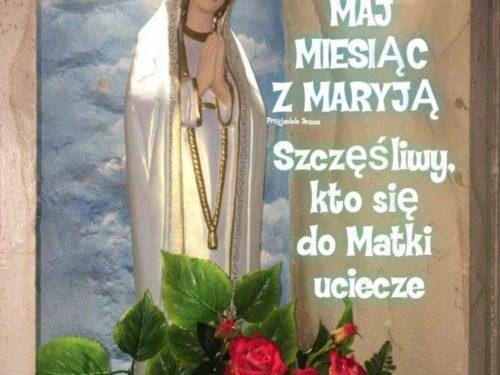 Życzymy dobrego miesiąca z Maryją