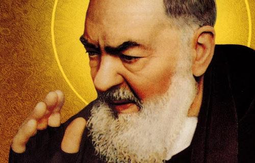 Ojciec Pio do chorych