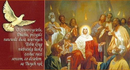 Nowenna do Ducha Świętego (modlitwa na każdy dzień)