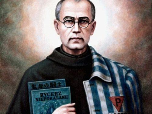 W piątek wspomnienie św. Maksymiliana Marii Kolbego