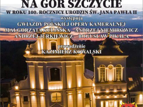 Zaproszenie na Koncert Papieski